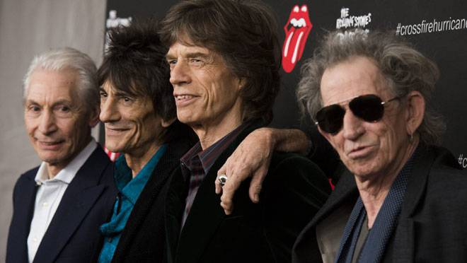 The Stones Roll On