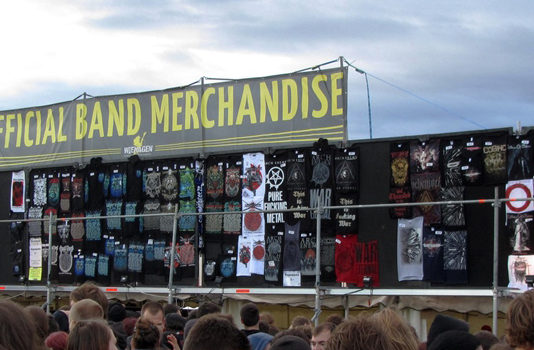 band merch