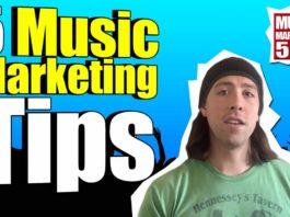 Music Marketing Tips