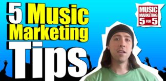 Music Marketing Tips