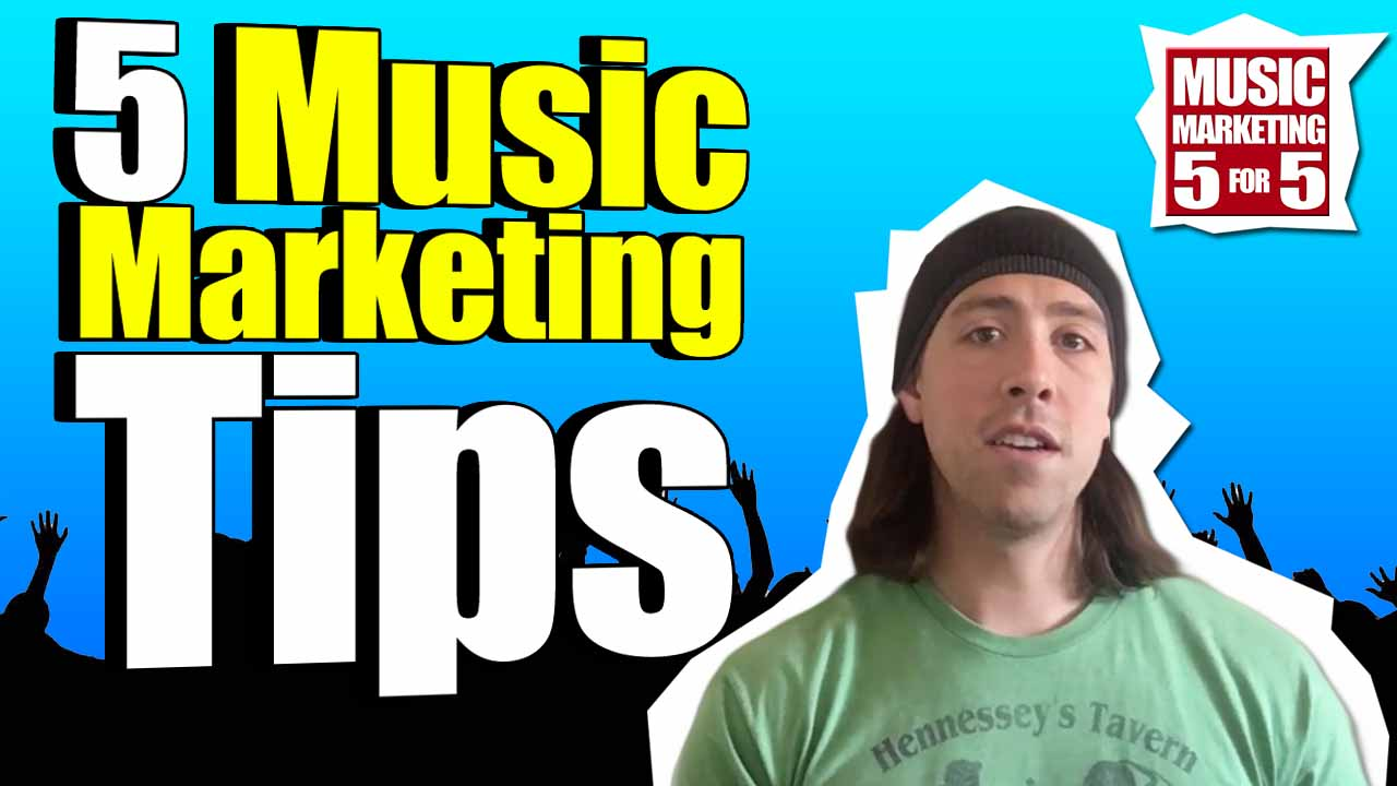 5 Tips For Music Marketing Domination