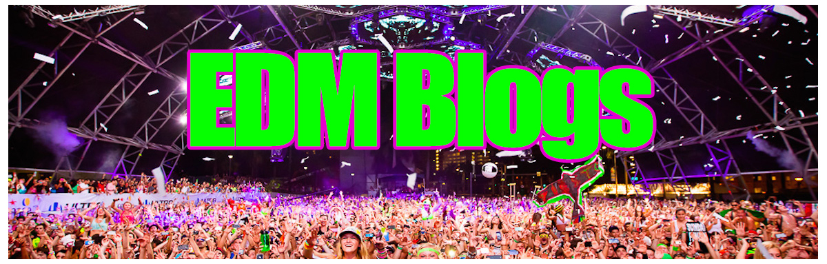 electronic dance music blogs