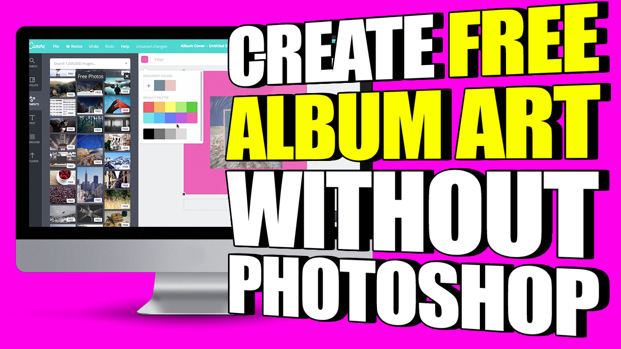 Create Professional-Looking Album Art For Free