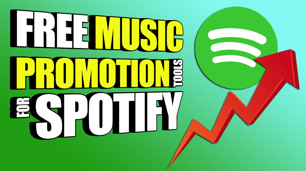 Free Music Promotion Tools To Get More Followers On Spotify