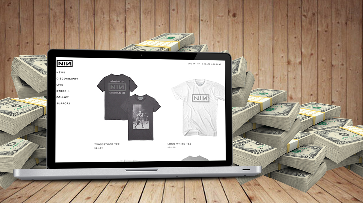 How To Sell Band Merch Online (...the EASY way)